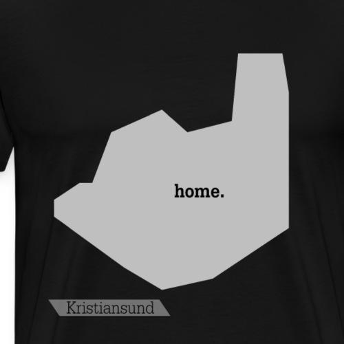 Hjemby Kristiansund - Premium T-skjorte for menn