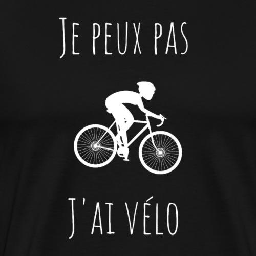 Je peux pas, j'ai vélo 2 - T-shirt Premium Homme