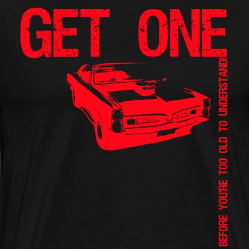 gto red - Herre premium T-shirt
