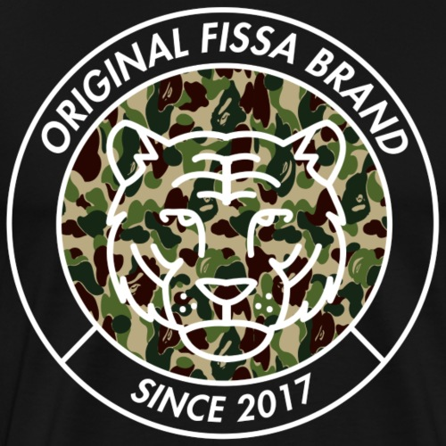 FISSA CAMO - Mannen Premium T-shirt