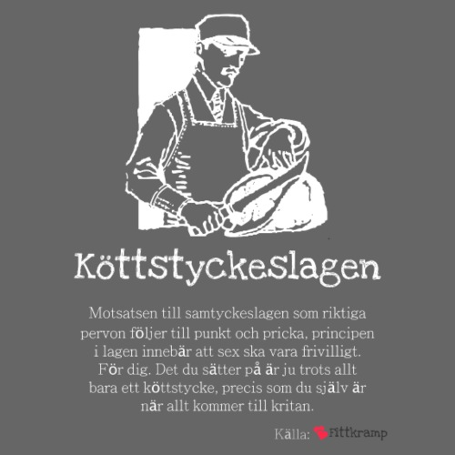 Köttstyckeslagen - Premium-T-shirt herr