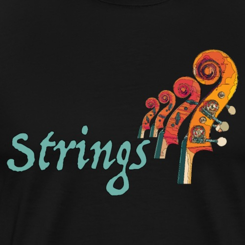 strings2 1 - Männer Premium T-Shirt