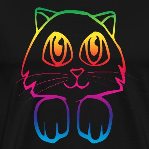 rainbow_pussy - Men's Premium T-Shirt