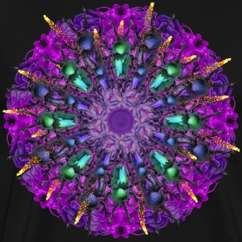 incredible bugs mandala - Men's Premium T-Shirt