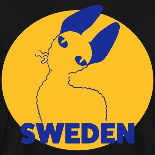 CORNISH REX SWEDEN - Premium-T-shirt herr