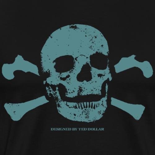 Ted's Skull - T-shirt Premium Homme