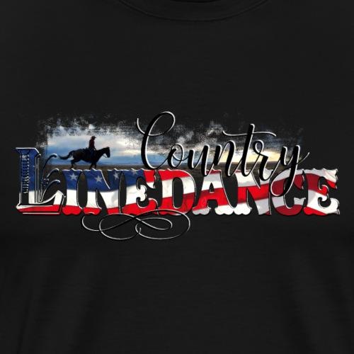 KL_linedance68 T-Shirt - Männer Premium T-Shirt
