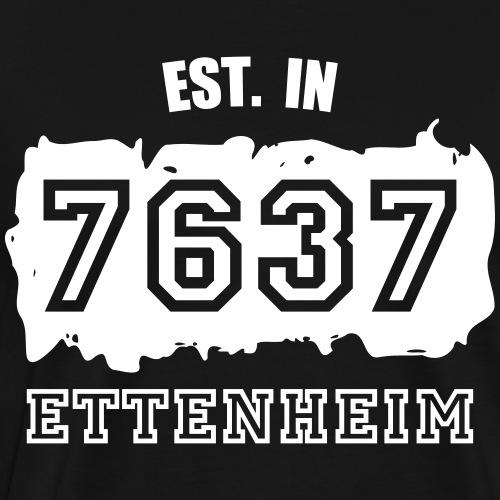 Established 7637 Ettenheim - Männer Premium T-Shirt