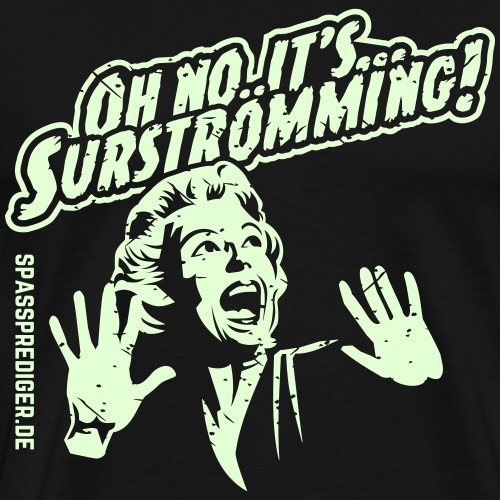 Surströmming T Shirt für Stinkefisch Fans - Männer Premium T-Shirt