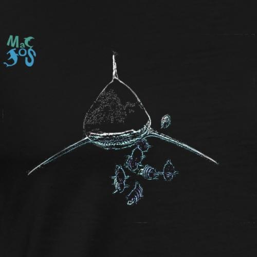 Req1-Neon-face - Men's Premium T-Shirt
