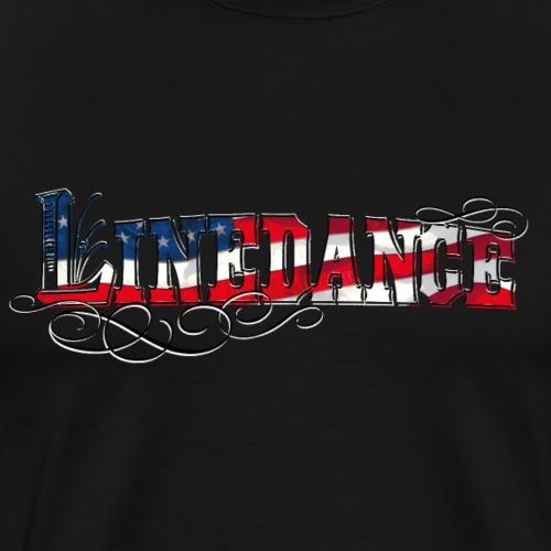 kl_linedance68c - Männer Premium T-Shirt