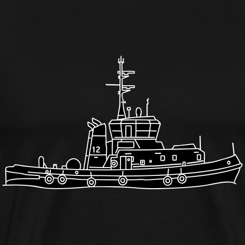 Schlepper Schleppschiff 2 - Männer Premium T-Shirt