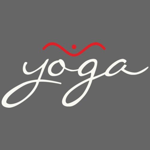 Yoga Balancing Typography And Emblem 2 - Männer Premium T-Shirt