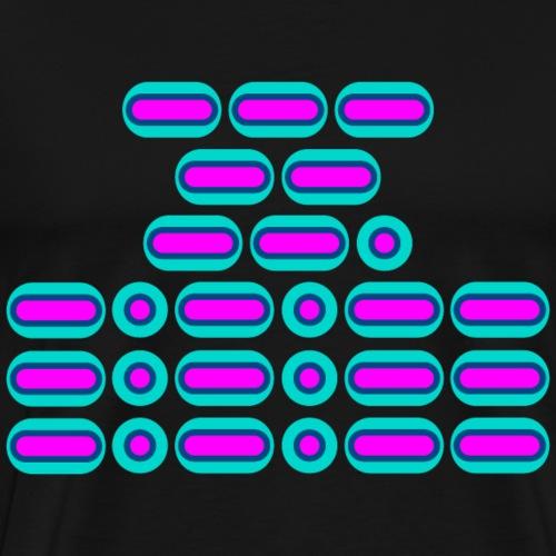 OMG!!! (pink/blue) - Men's Premium T-Shirt