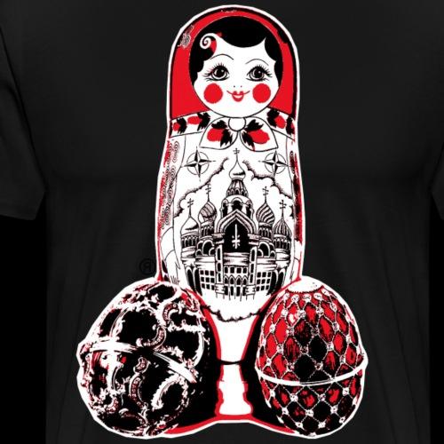 Matreshka Street Art - Men's Premium T-Shirt