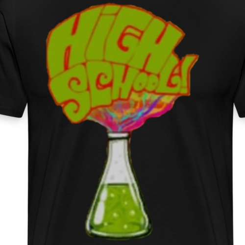 High School DF - Maglietta Premium da uomo
