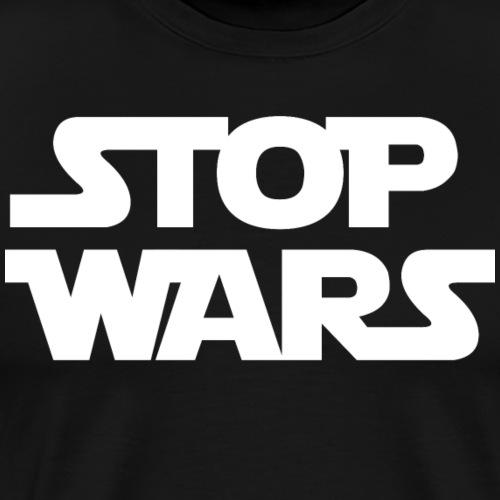 Stop Wars (blanc) - T-shirt Premium Homme