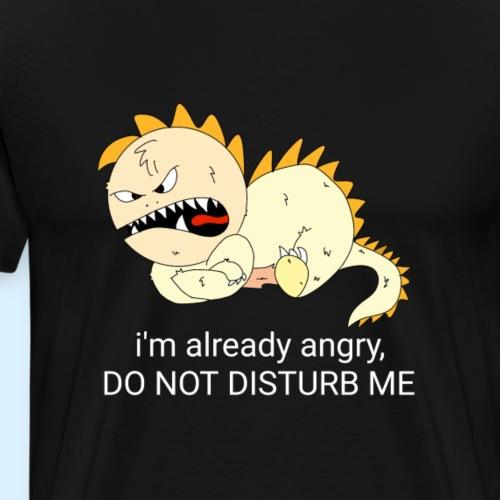 Angry - Premium T-skjorte for menn