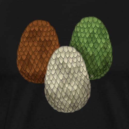 Dragon eggs - Camiseta premium hombre