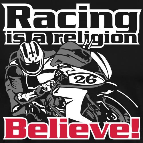 Racing »Believe!« - Männer Premium T-Shirt