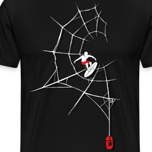 Surf the Web - Men's Premium T-Shirt