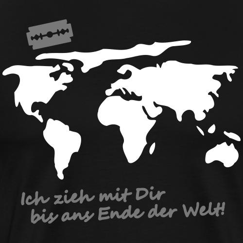 Ich zieh mit Dir bis ans Ende der Welt Pepp Speed - Männer Premium T-Shirt