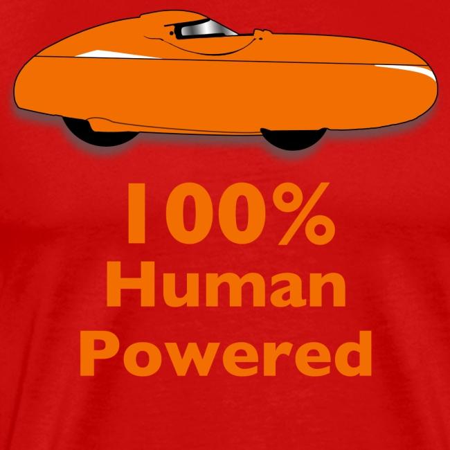100% human powered