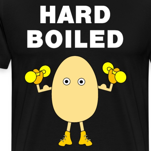 Hard Boiled White Text