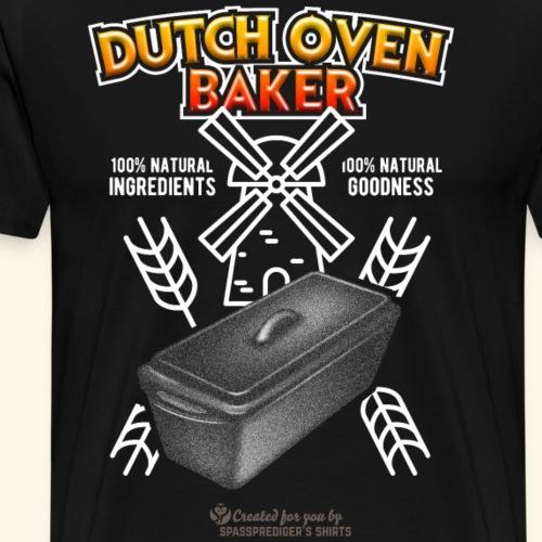 Dutch Oven Baker Kastenform | Dutch Oven T-Shirts - Männer Premium T-Shirt