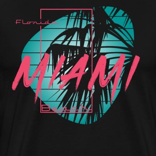 Florida Miami Beach Style - Men's Premium T-Shirt