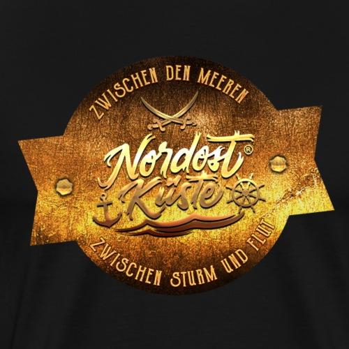 Nordost Küste Gold Edition - Männer Premium T-Shirt