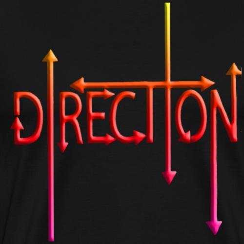 Direction - Camiseta premium hombre