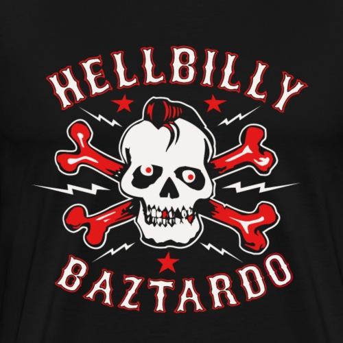 Hellbilly Baztardo - Männer Premium T-Shirt
