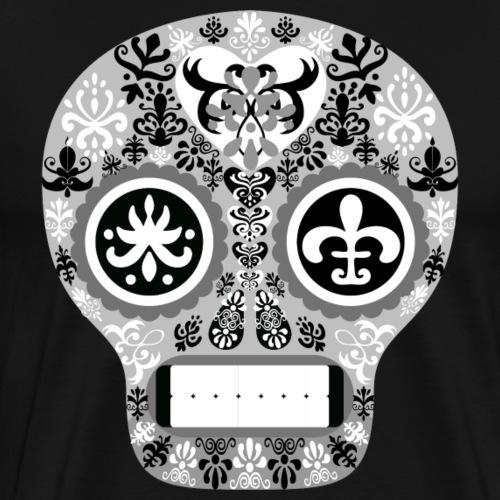 skull kopf - Männer Premium T-Shirt