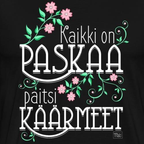 Paitsi Käärmeet - Miesten premium t-paita