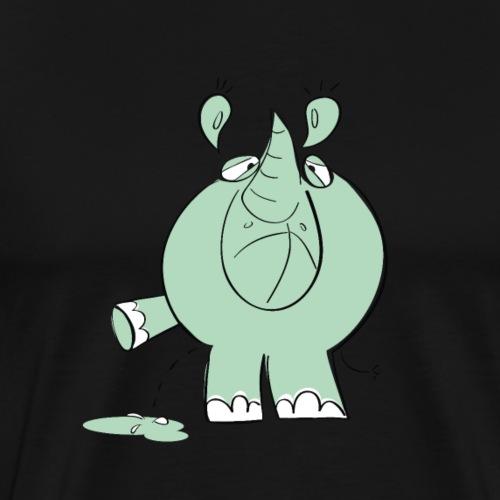 Rhino No. 1 - Männer Premium T-Shirt