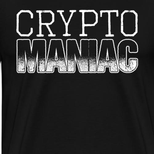 Crypto Maniac Cryptocurrency - Männer Premium T-Shirt