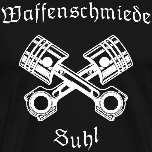 Waffenschmiede Suhl mit Kolben - Männer Premium T-Shirt