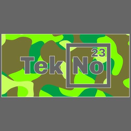 TEKNO 23 CAMOUFLAGE - Maglietta Premium da uomo