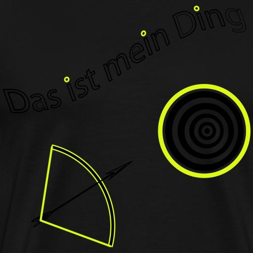 Pfeil+ Bogen2 - Männer Premium T-Shirt
