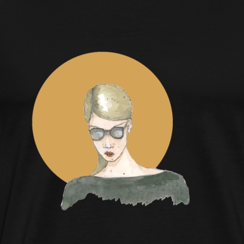 Glasses & Gold II - Männer Premium T-Shirt