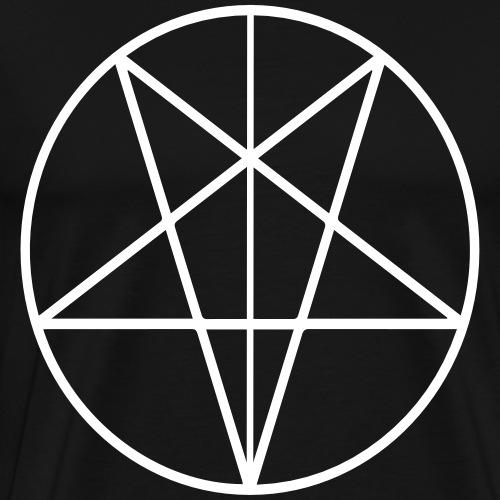 666 - Camiseta premium hombre