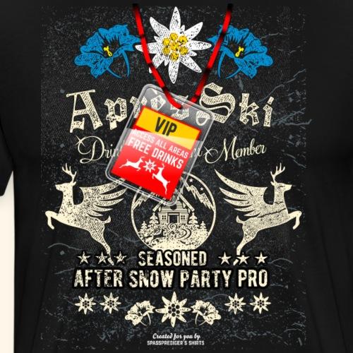 Apres Ski Party VIP - Männer Premium T-Shirt