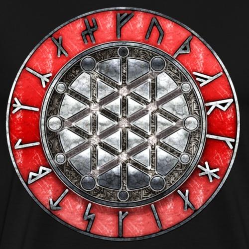 Le cercle runique de l'albruna - T-shirt Premium Homme