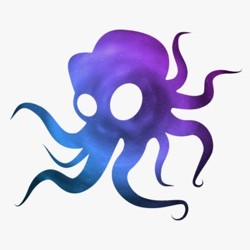 Space Squid - Herre premium T-shirt