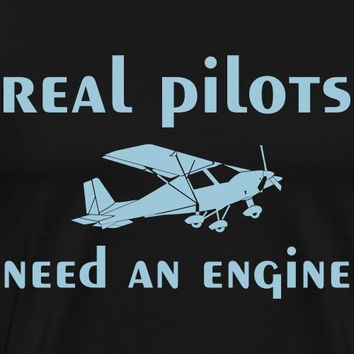 Pilot C42 Motorflugzeug Ultraleichtflugzeug - Männer Premium T-Shirt