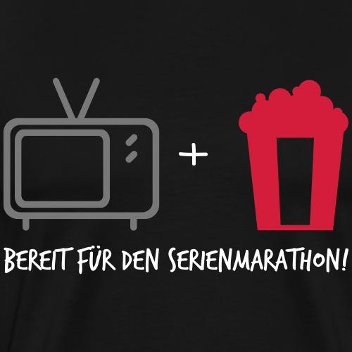 Serienmarathon - Männer Premium T-Shirt