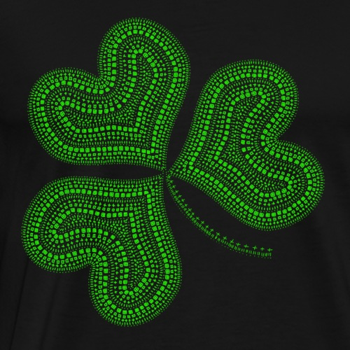 Saint Patrick trèfle - T-shirt Premium Homme