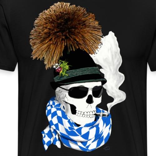 skull_Bayer - Männer Premium T-Shirt