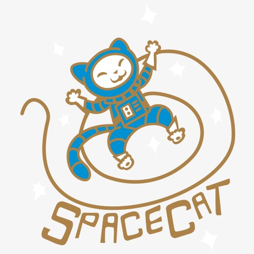 SpaceCat - Men's Premium T-Shirt